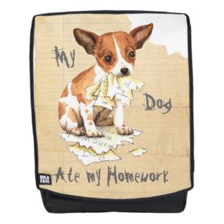 Mein Chihuahua aß meine Hausaufgaben Rucksack