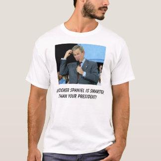 Mein cocker spaniel ist intelligenter als Ihr T-Shirt
