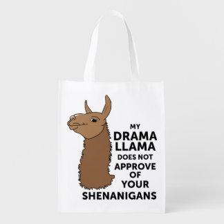 Mein Drama-Lama genehmigt nicht Ihre Shenanigans Tragetaschen