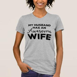 Mein Ehemann hat eine fantastische Ehefrau T-Shirt