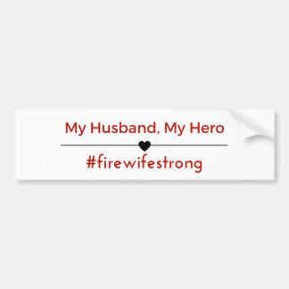 Mein Ehemann, mein Held-Autoaufkleber Autoaufkleber