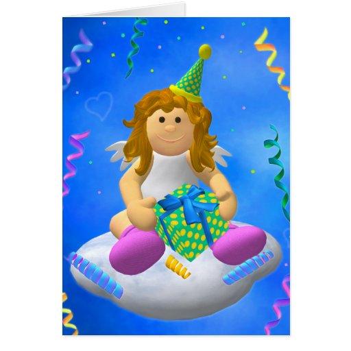 Mein Engelchen: Alles Gute zum Geburtstag Grußkarte
