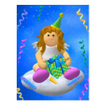 Mein Engelchen: Alles Gute zum Geburtstag Postkarte