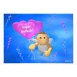 Mein Engelchen: Geburtstags-Engel 2 12,7 X 17,8 Cm Einladungskarte