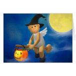 Mein Engelchen: Halloween Grußkarte
