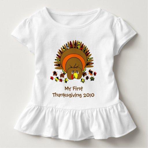 Mein erster Erntedank die niedliche Türkei Hemd