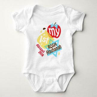 Mein erster Rosh Hashanah Bodysuit für Baby Baby Strampler