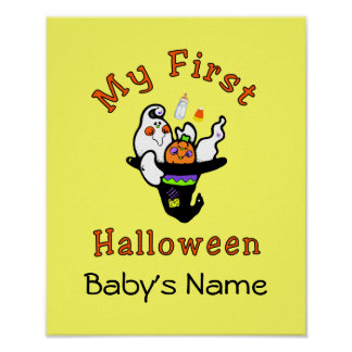 Mein erstes Halloween Poster