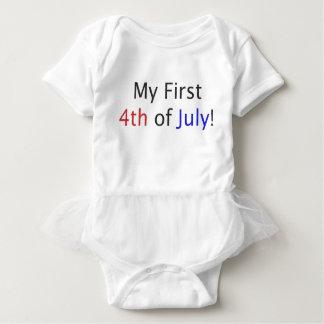Mein erstes Juli 4.! Baby Strampler