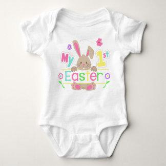 Mein erstes Ostern-Frühlings-Ostern-Shirt Baby Strampler