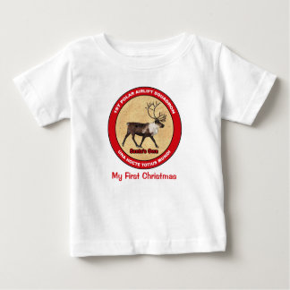 Mein erstes Weihnachten - 1. polares Baby T-shirt
