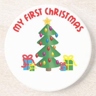 Mein erstes Weihnachten Getränkeuntersetzer