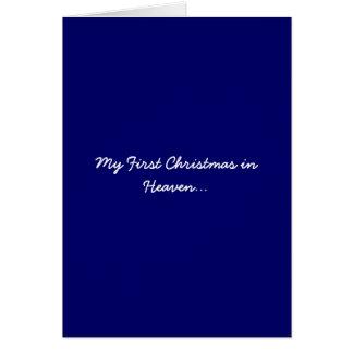 Mein erstes Weihnachten im Himmels-Blau
