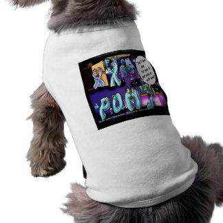Mein ex u. Ihr ex lustiges Ärmelfreies Hunde-Shirt