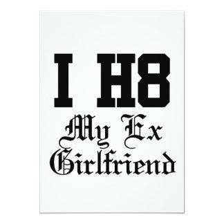 mein Exgirlfriend 12,7 X 17,8 Cm Einladungskarte