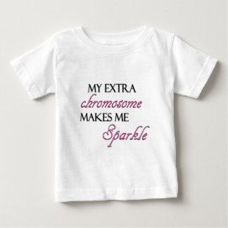 Mein Extrachromosom lässt mich funkeln Baby T-shirt