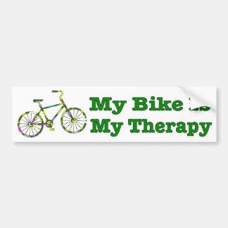 Mein Fahrrad ist mein lustiges Radfahren der Autoaufkleber