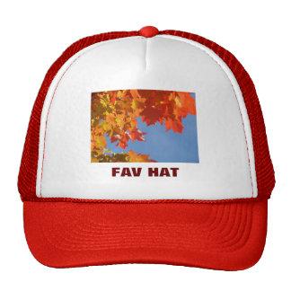 Mein Fav Hut-Fernlastfahrerhüte Herbst verlässt Ge Truckermütze