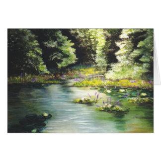 """""""Mein Fischen-Loch """" Karte"""