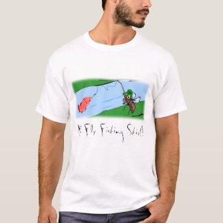 """""""Mein Fliegen-Fischen-Shirt """" T-Shirt"""