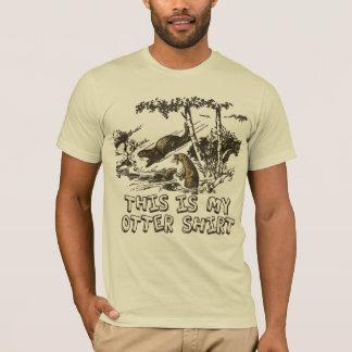 Mein Fluss-Otter-Shirt T-Shirt