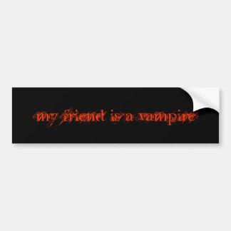 mein Freund ist ein Vampir Autoaufkleber