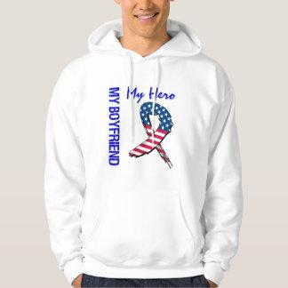 Mein Freund mein Held-patriotisches Schmutz-Band Hoodie