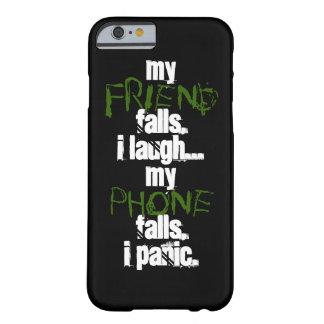 Mein Freund, mein Telefonschwarzgrün IPhone 6 Fall Barely There iPhone 6 Hülle