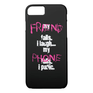 Mein Freund, mein Telefonschwarzrosa iPhone 7 Fall iPhone 8/7 Hülle