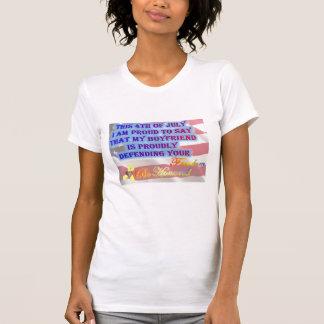 Mein Freund verteidigt Ihre FreiheitArmee T-Shirt
