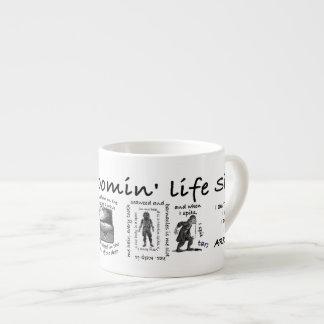 Mein ganzer blühende Lebensir Espressotasse