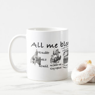 Mein ganzes blühende Leben Kaffeetasse