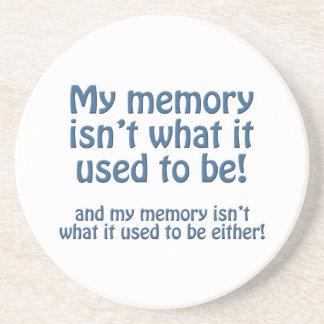 Mein Gedächtnis Getränkeuntersetzer