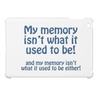 Mein Gedächtnis iPad Mini Hülle