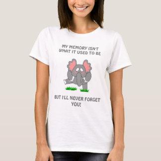 MEIN GEDÄCHTNIS IST NICHT, WAS ES T… VERWENDETE T-Shirt