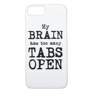 Mein Gehirn hat zu viele offenen Vorsprünge iPhone 8/7 Hülle
