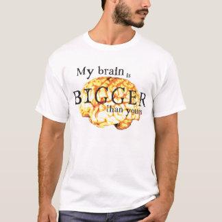Mein Gehirn ist größer als Ihr T-Shirt