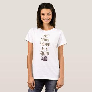 Mein Geist-Tier ist ein Sloth-Shirt T-Shirt