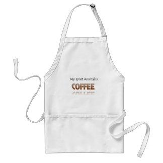 Mein Geist-Tier ist Kaffee Schürze
