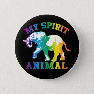 Mein Geist-Tier Runder Button 5,1 Cm
