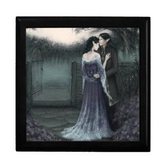 Mein geliebter Elvish Romance Andenken-Kasten Große Quadratische Schatulle
