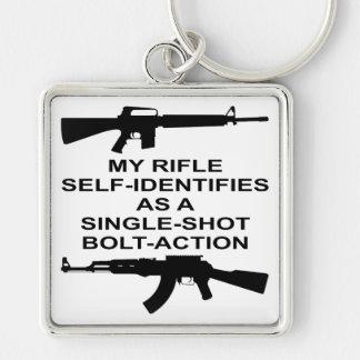 Mein Gewehr-Selbst identifiziert als Schlüsselanhänger