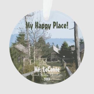 Mein glücklicher Platz! Mt. LeConte - rauchige Ornament