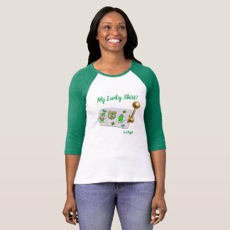 Mein glückliches Las Vegas 3/4 Hülseraglan-T - T-Shirt