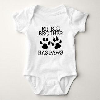 Mein großer Bruder hat Tatzen Baby Strampler
