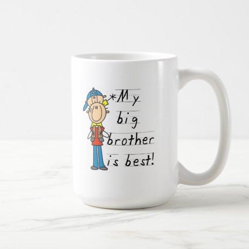 Mein großer Bruder ist beste T-Shirts und Geschenk Tassen