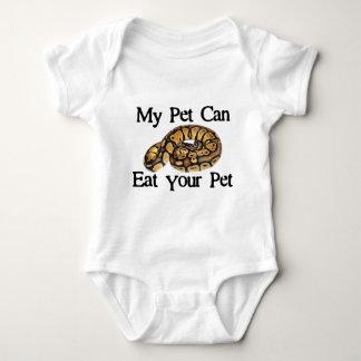 Mein Haustier kann Ihr Haustier essen Baby Strampler