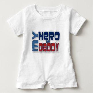 Mein Held ist mein Vati-Spielanzug Baby Strampler