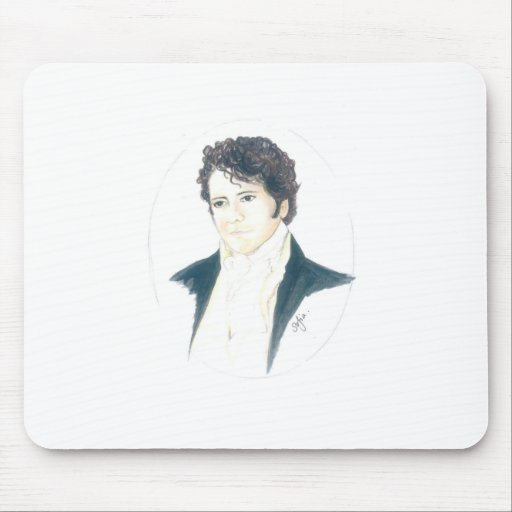 Mein Herr Darcy Mousepad