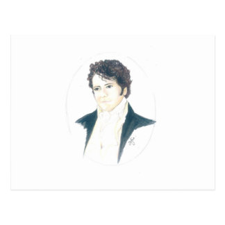 Mein Herr Darcy Postkarte